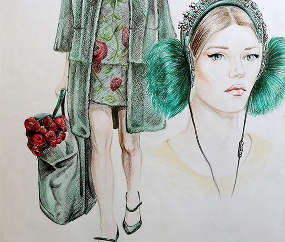 moda tasarımı portfolyo hazırlık akademisi